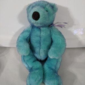 """TY Beanie Buddy Classic Bluebeary Bear 16"""""""
